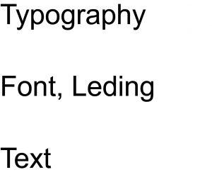 bad leading typography
