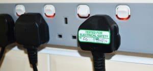 PAT test label