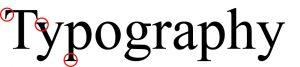 serif typography
