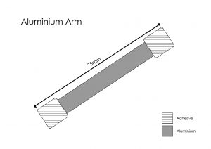 Wobbler Arm Template