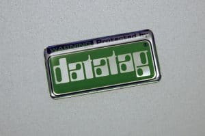 Domed sticker Rectangle - datatag