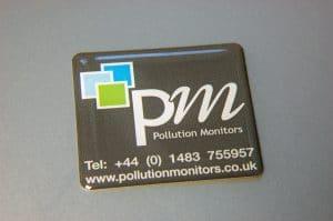domed sticker - Pollution Monitors