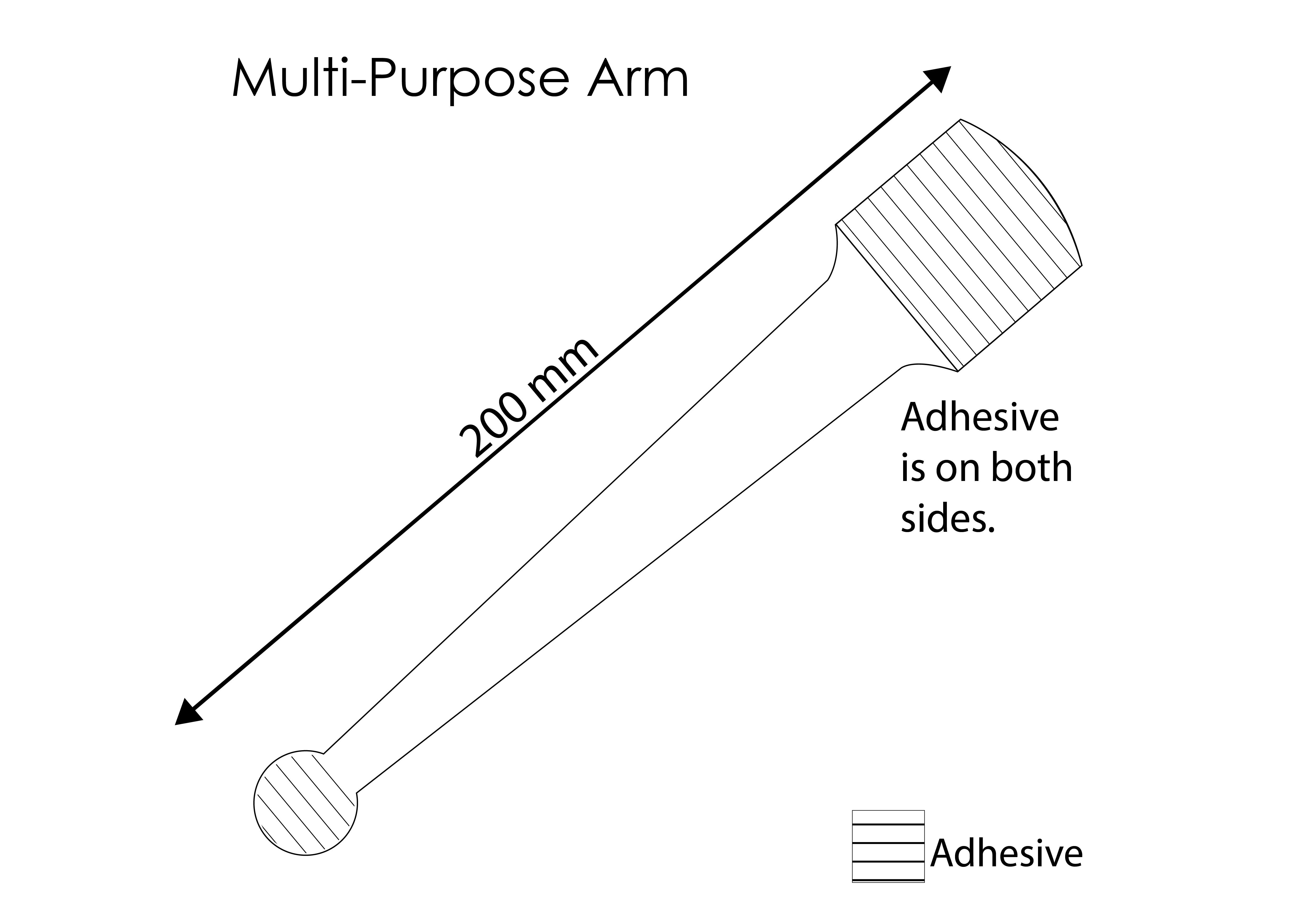 Wobbler Arm Template