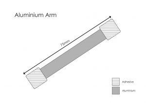 Aluminium Wobbler Arms