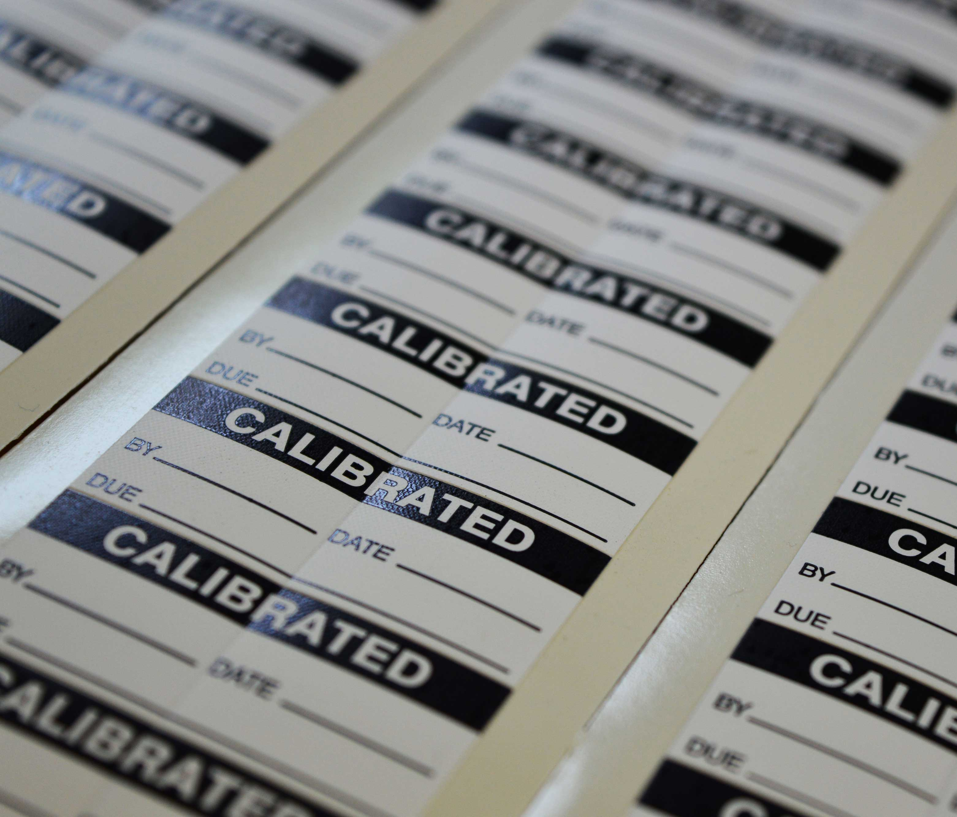 Component Test Labels - Calibrated Labels