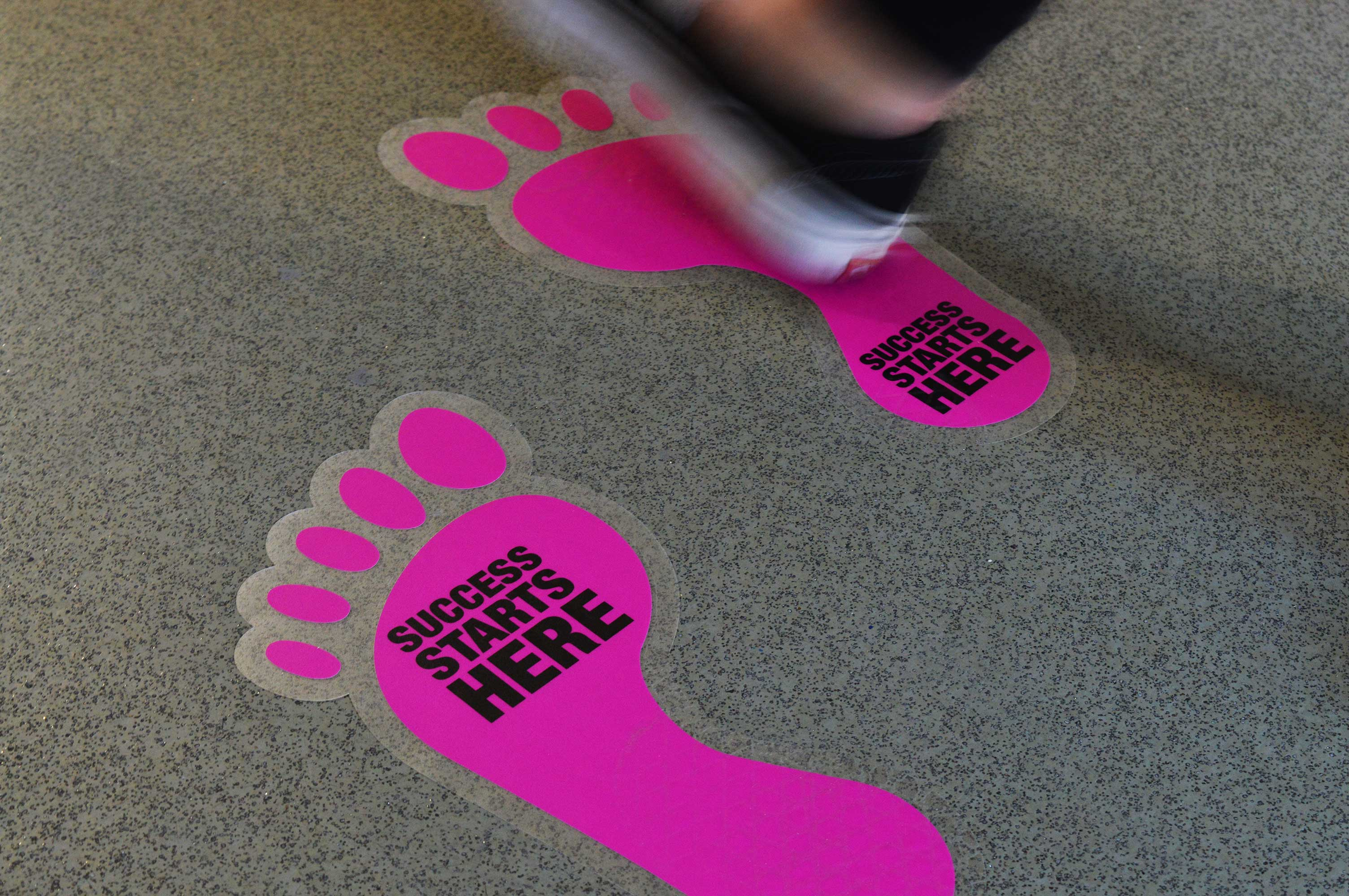 Floor Stickers 3