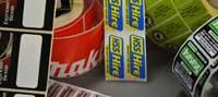 Industrial Labeling Menu