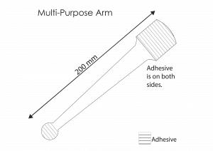 Multi-purpose Wobbler Arms