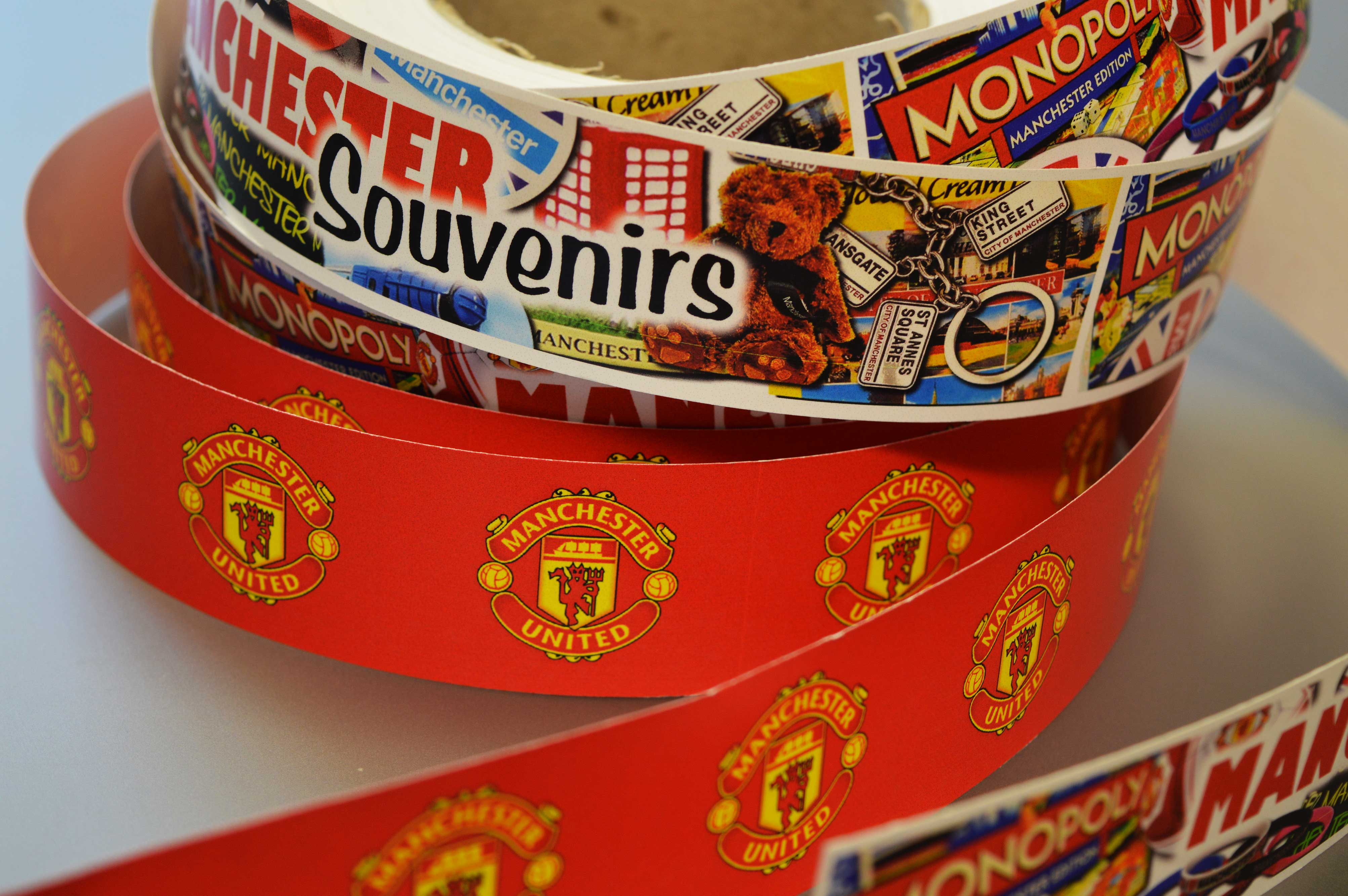 Shelf Edge rolls for Manchester United