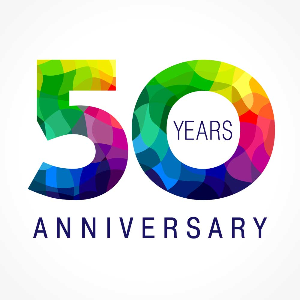 50th-Anniversary Logo
