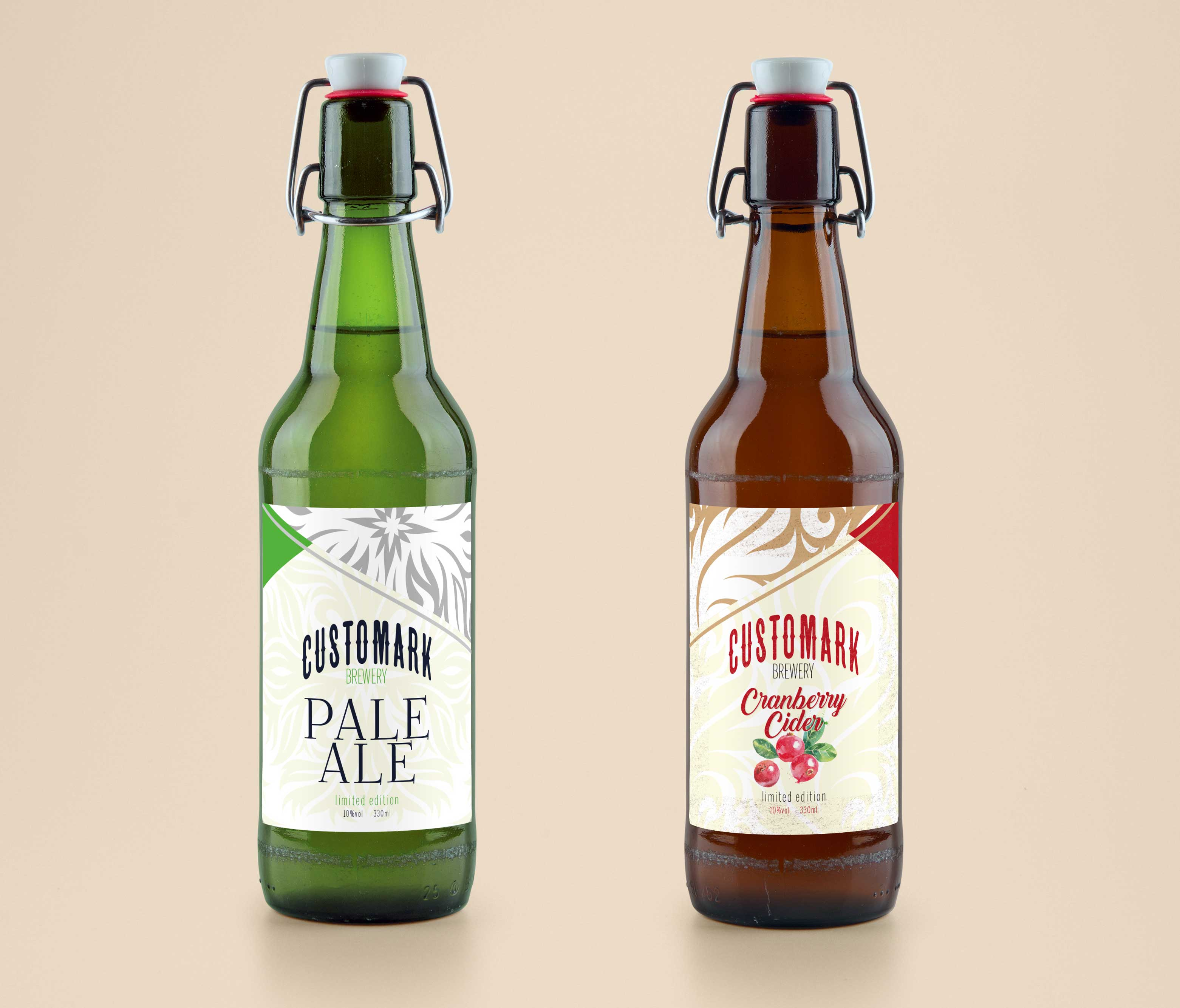 Industrial Bottle Labelling