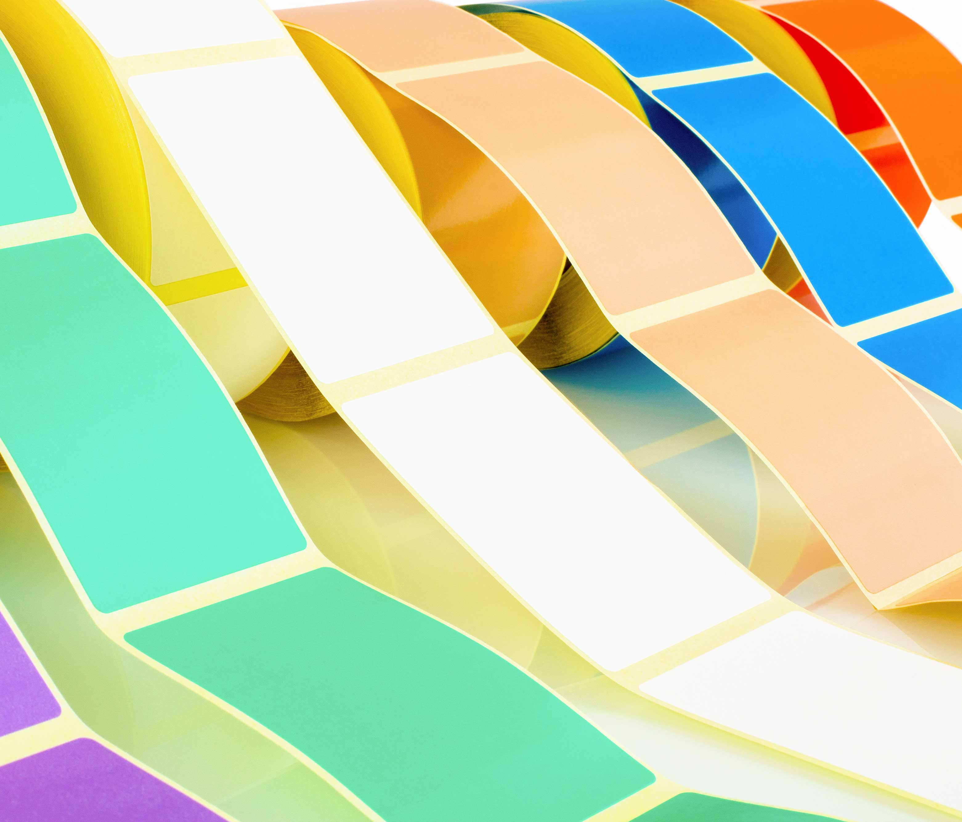 Coloured Thermal Transfer Labels