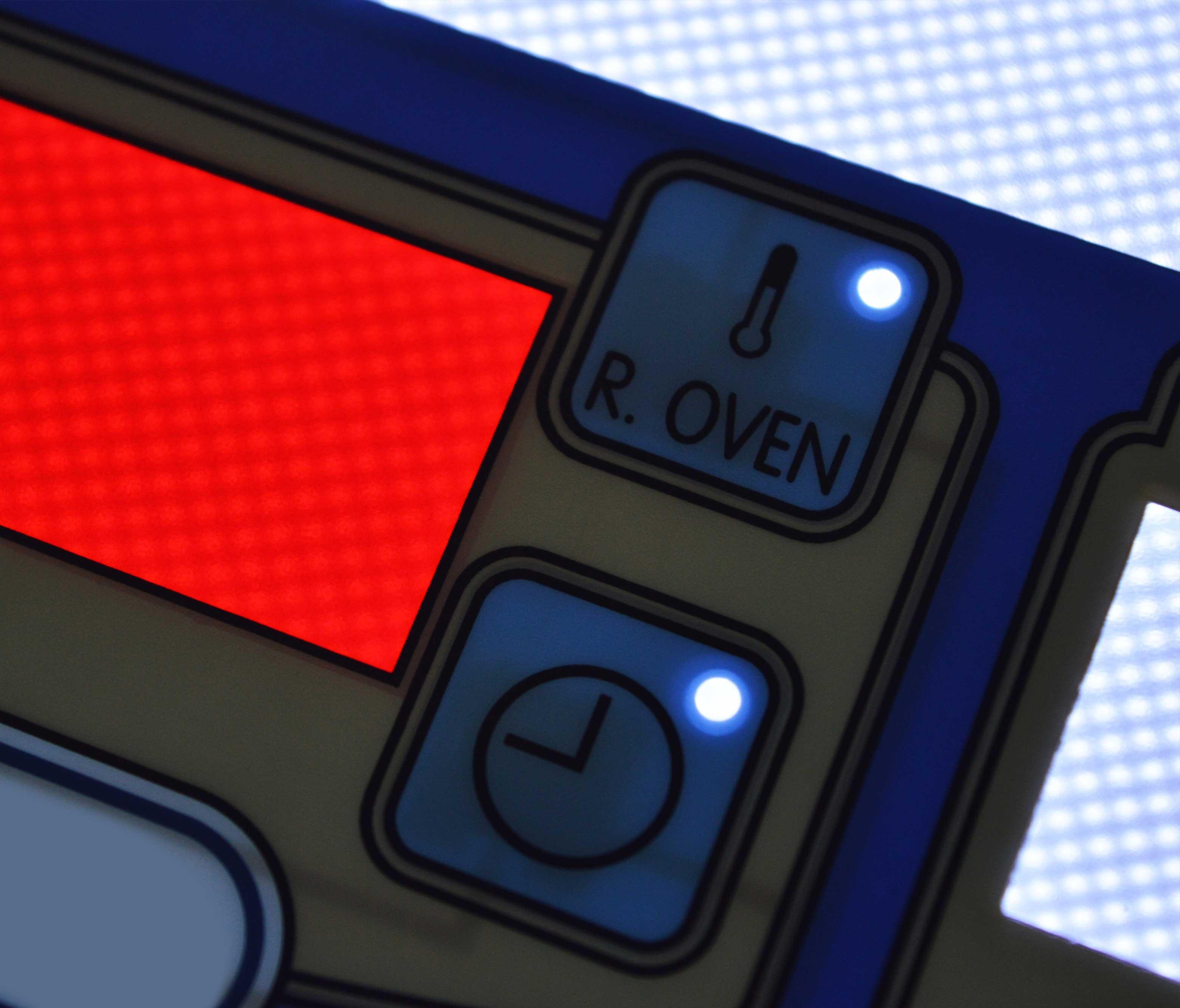 Backlit Membrane Keypads and Keyboards